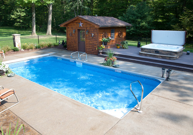 Swimming pool gallery for Pool design mcmurray pa